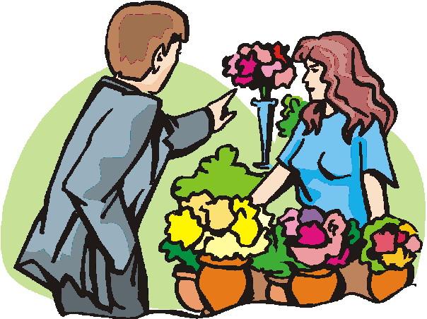 604x452 Send Flowers Clip Art Cliparts
