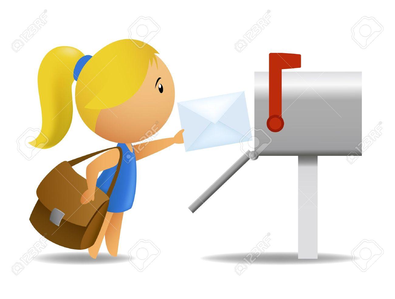 1300x984 Send A Letter Clip Art Cliparts