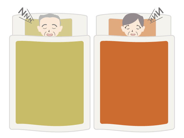 640x480 Seniors Sleeping Futon Sleeping