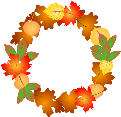 400x387 September Season Clipart
