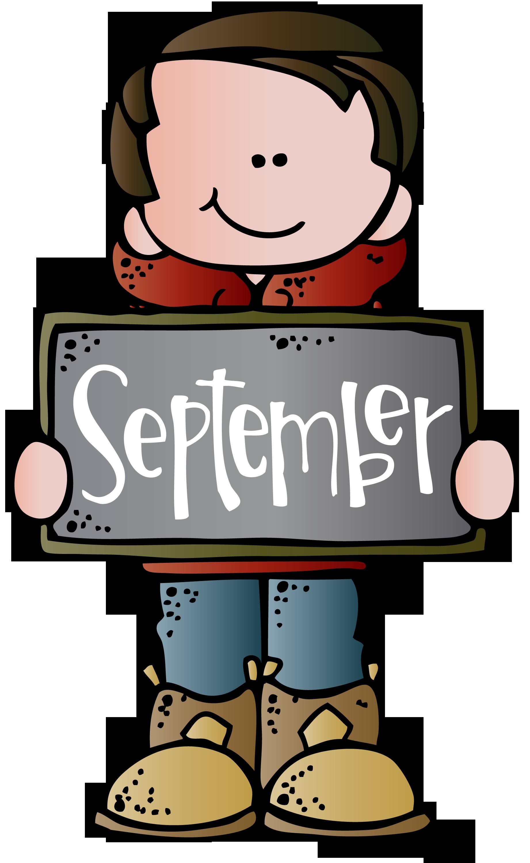 Calendar Clip Art Border : September calendar clipart free download best