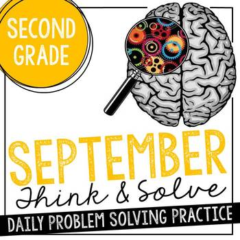 350x350 Daily Problem Solving For 2nd Grade September Word Problems Tpt