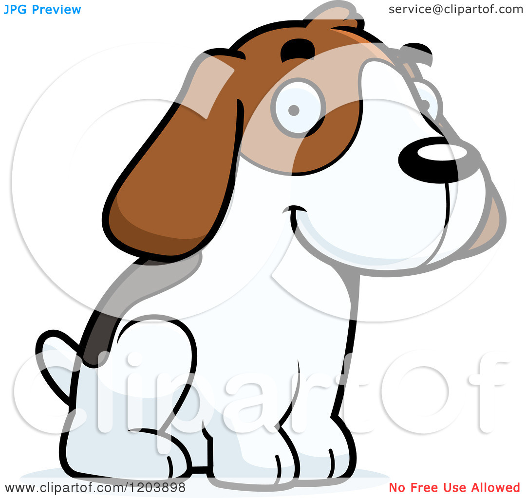 1080x1024 Beagle Clipart Therapy Dog