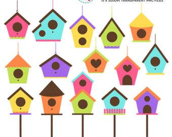 340x270 Cute Houses Clipart Set Clip Art Set Of Little Houses