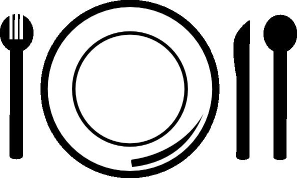 594x357 Dinner Plate Clipart