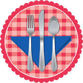 170x170 Table Knife Clip Art