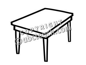 300x225 Set Clipart Kitchen Table Clip Art
