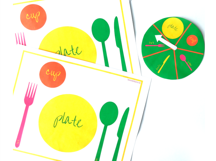 700x522 Table Setting Thanksgiving Activity For Kids