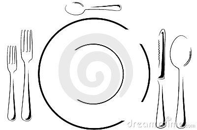 Setting The Table Clipart | Free download best Setting The Table ...