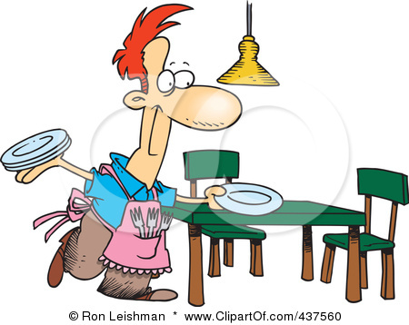 450x358 Boy Clipart Cleaning Table