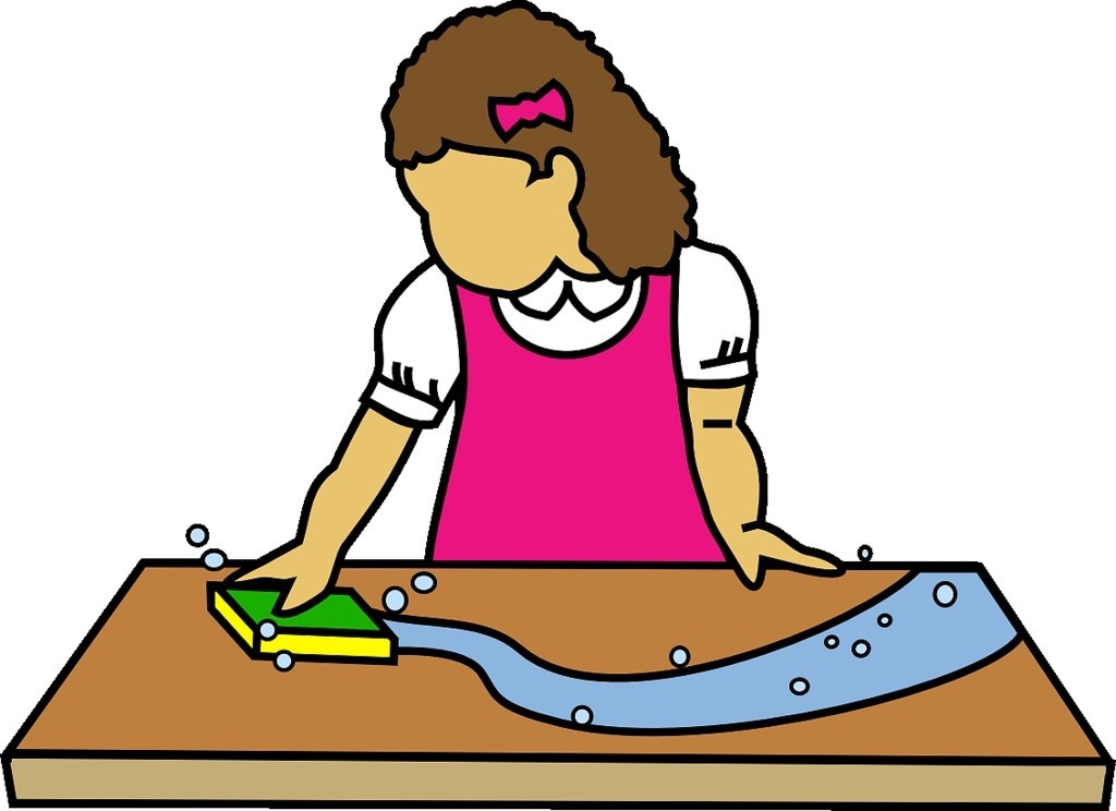 1024x744 Child Setting The Table Clipart Letters Example