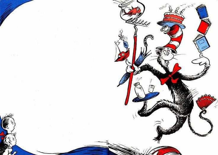 Seuss Clipart