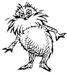 221x240 Dr. Seuss Black And White Clip Art