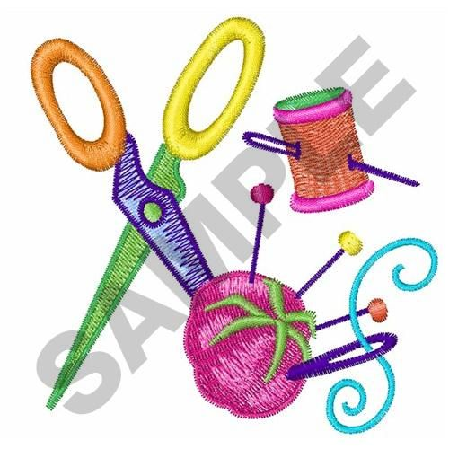 500x500 Sewing Machine Clipart Embroidery Machine