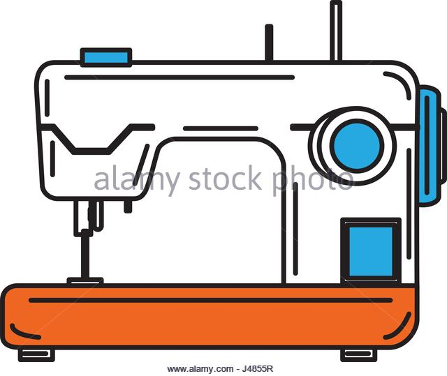 640x539 Sewing Machine Isolated Icon Stock Photos Amp Sewing Machine