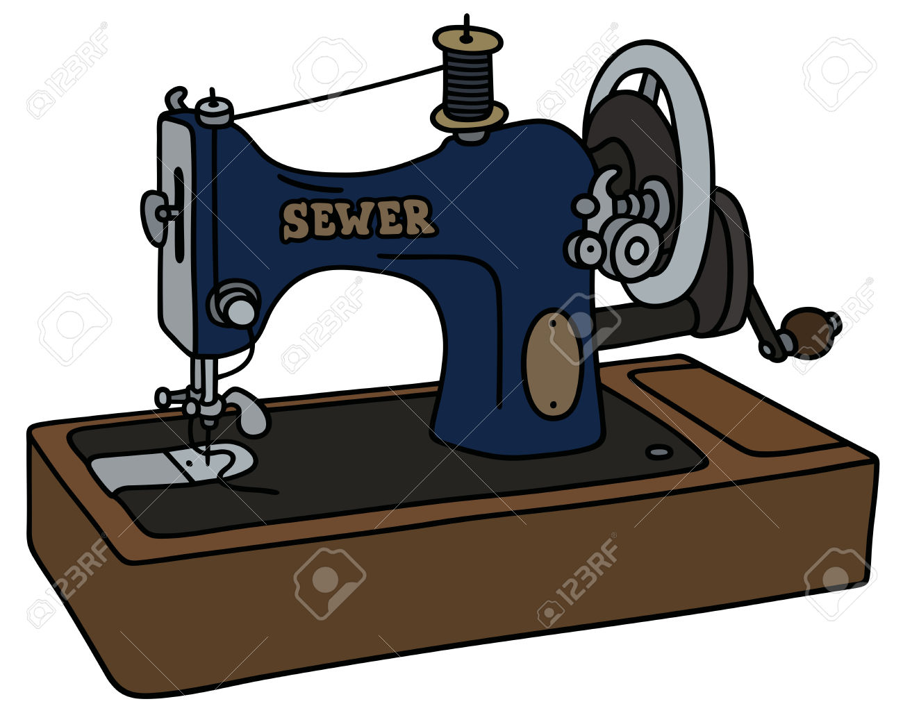 1300x1040 Sewing Machine Clipart Hand Sewing