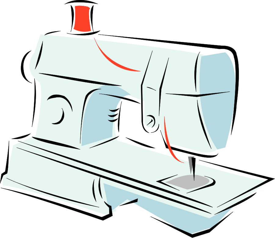 900x777 Sewing Machine Clipart Sewing Accessory