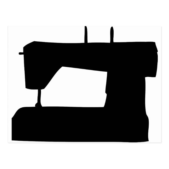 540x540 Sewing Machine Clipart Silhouette