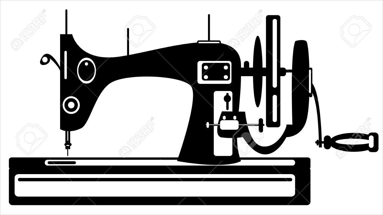 1300x731 Sewing Machine Clipart Stitching
