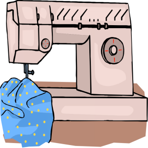 300x300 Sewing Machine Clip Art 3