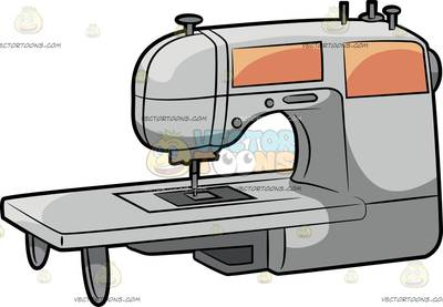 400x277 Textile Machine Clipart