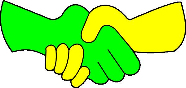 600x285 Free Handshake Clip Art