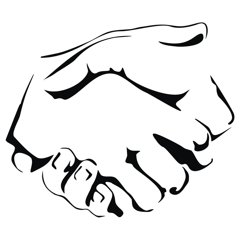 1500x1500 Shake Hands Clipart