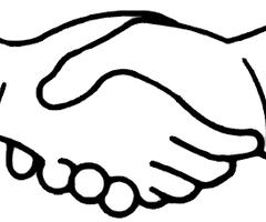 240x200 Shaking Hands Handshake Clipart Handshake Clip Art Clipart Image 2