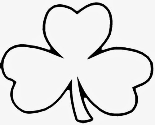 500x404 St Patrick's Day Shamrock Templates Early Play Templates