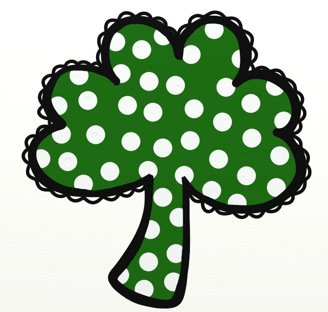 670x638 Free Shamrock Clipart Public Domain Holiday Stpatrick Clip Art 14