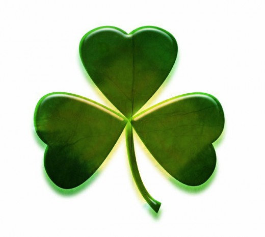 520x465 Free St. Patrick#39s Day Shamrocks Clip Art Images HubPages