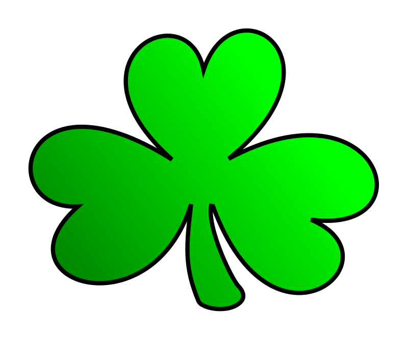 800x666 Free shamrock clipart public domain holiday stpatrick clip art 4