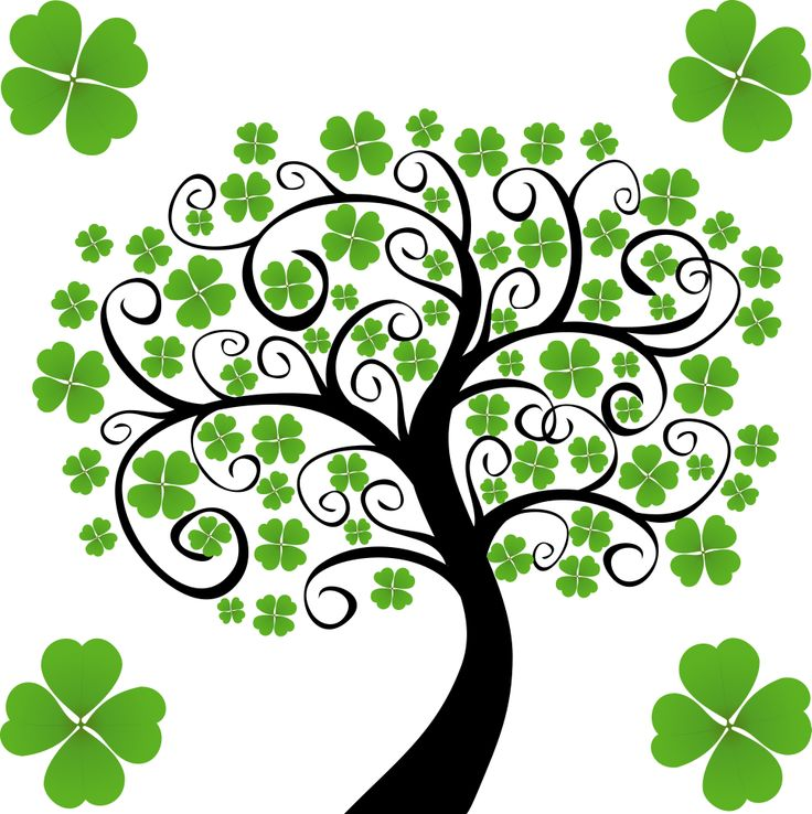736x738 Celtic Shamrock Clip Art – Cliparts