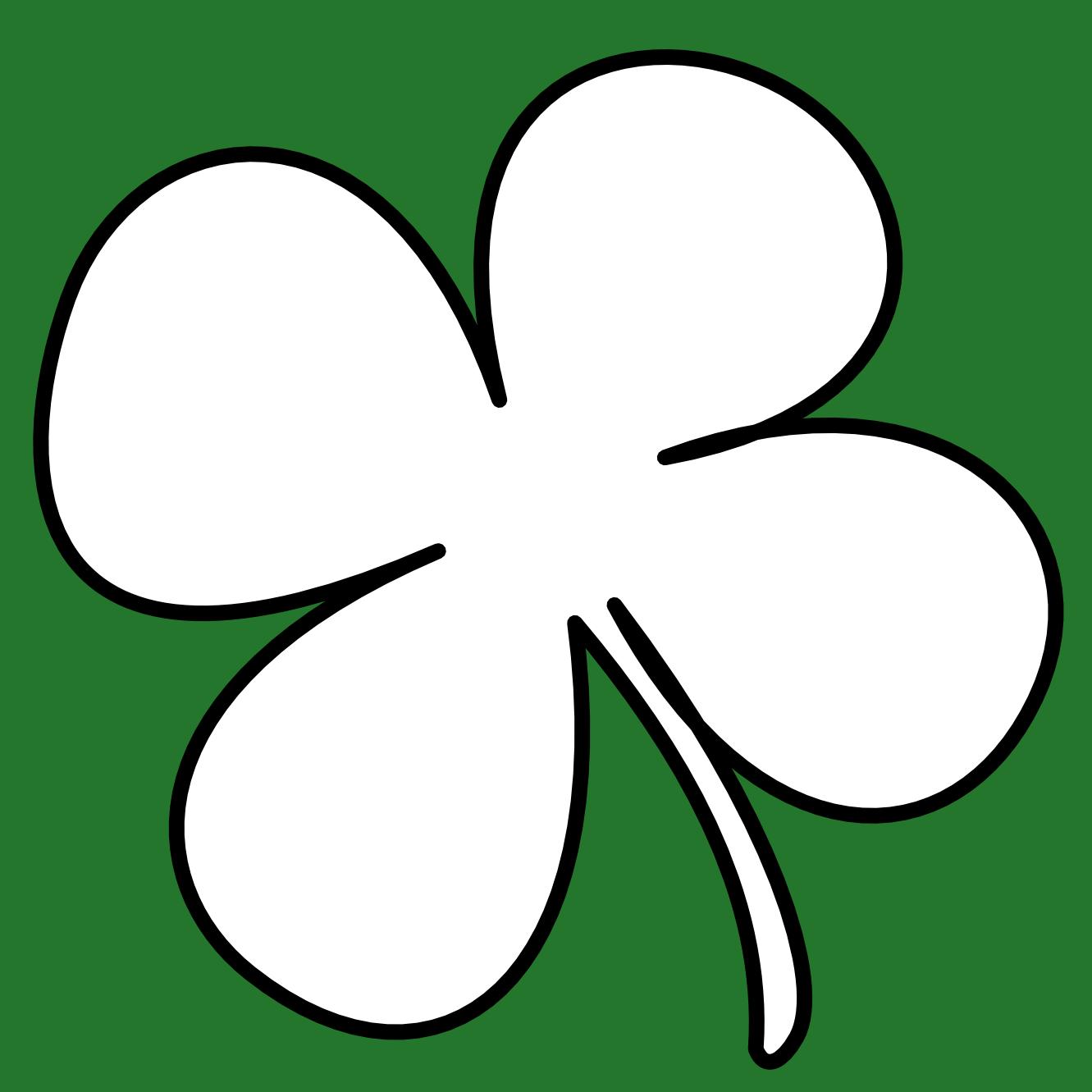 1331x1331 Shamrock Irish Clip Art 2 Image