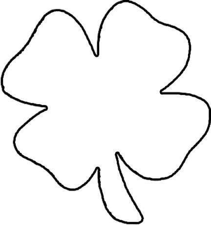 432x460 Four Leaf Clover Ideas About Shamrock Clipart On Four Leaf