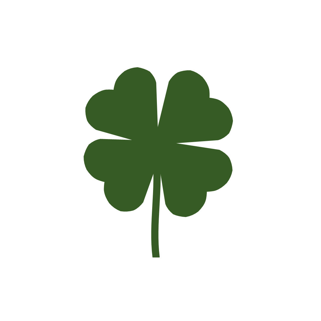 1080x1080 Free Printable Shamrock Clipart