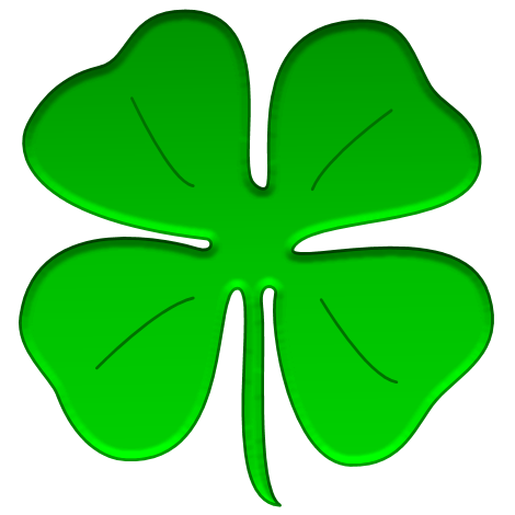 470x470 Free Shamrock Clip Art Coloring Clipart Images