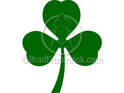 432x324 Cartoon Shamrock Clipart Shamrock Clip Art Graphics Clover