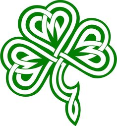 236x254 Irish Celtic Clover Art Celtic Shamrock Clip Art