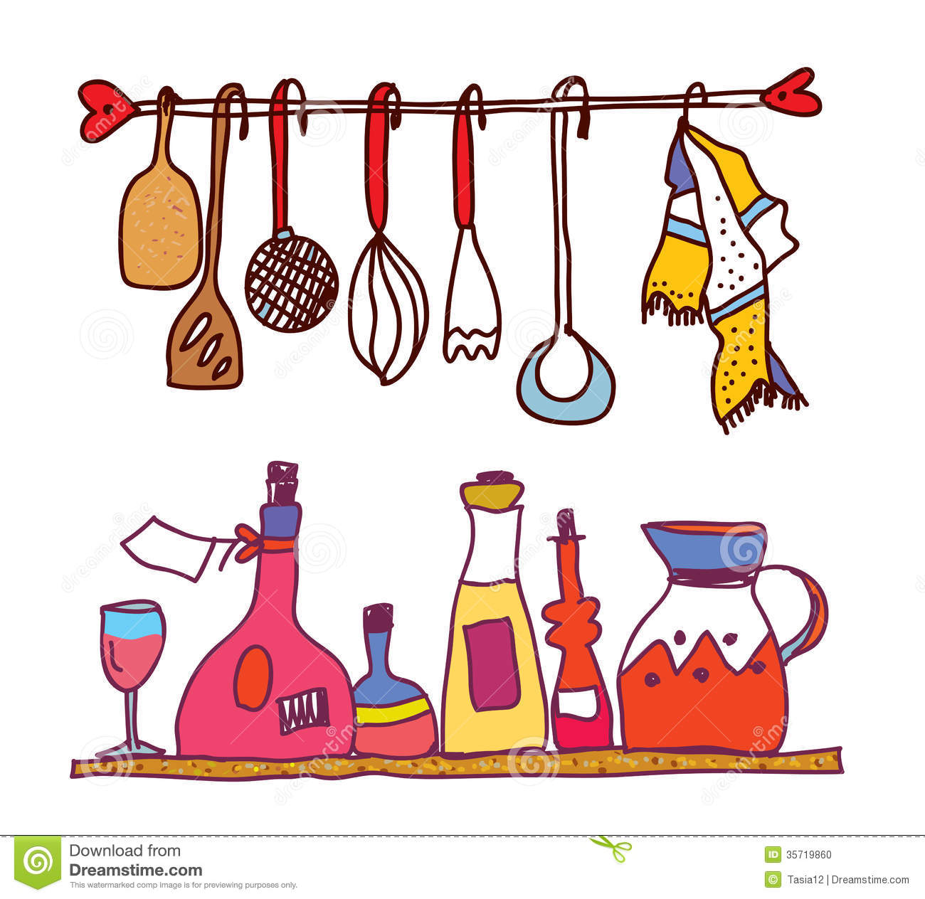 1300x1264 Cooking Tools Clipart