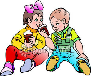 300x252 Sharing Toys Clipart