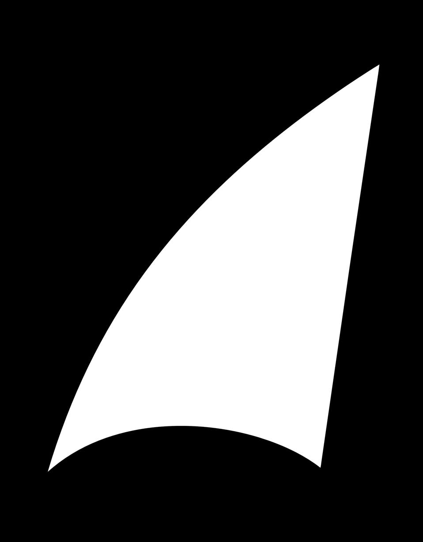 958x1228 Public Domain Clip Art Image Shark Fin Sail Id 13534773013609