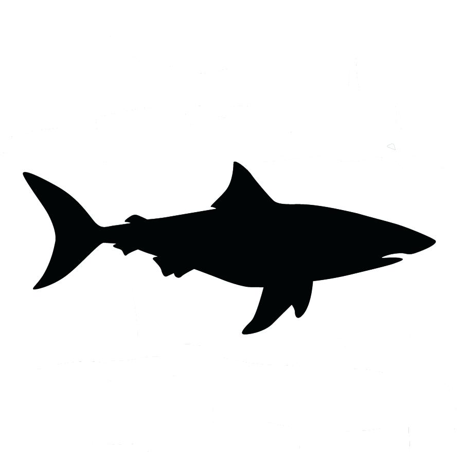900x878 All Images To Shark Black Outline Tattoo Stencil 11 Marvellous