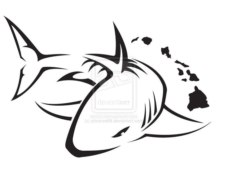 736x568 Tattoo Clipart Shark