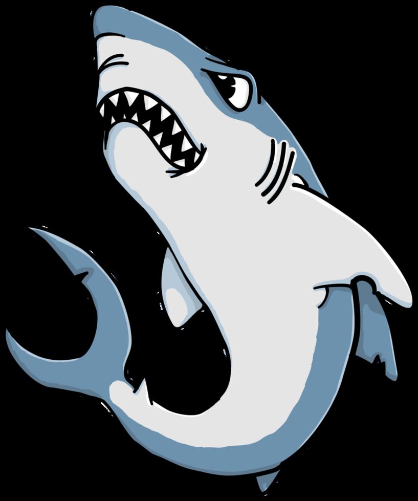 817x979 Cartoon Shark By Pjobo