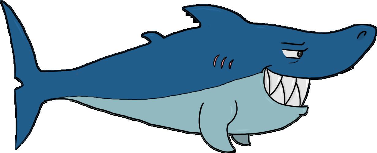 Shark Cartoon | Free download on ClipArtMag