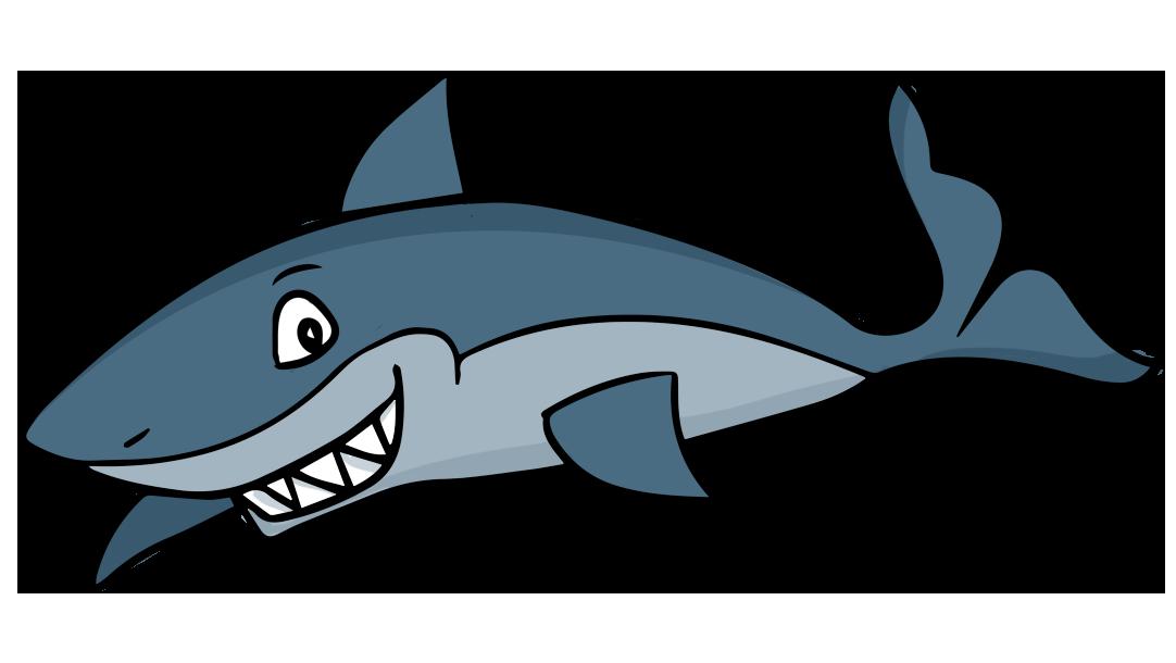 1082x610 Cartoon Clipart Shark