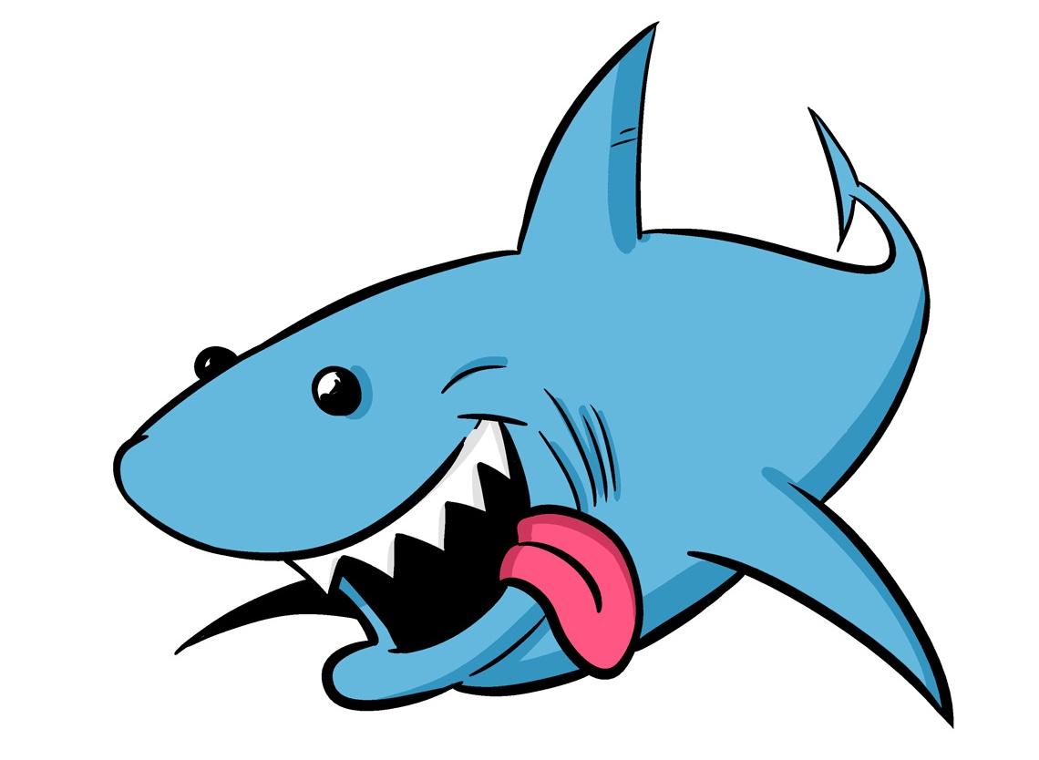1140x834 Top 90 Shark Clip Art