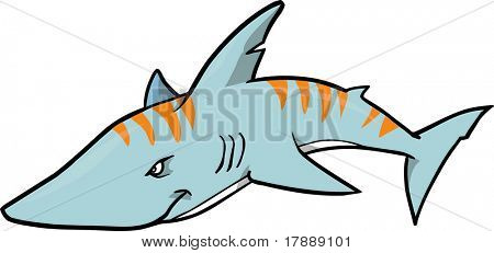 450x231 Tiger Shark clipart shark face