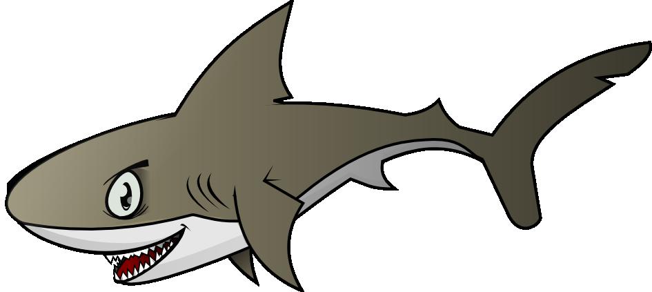 945x423 Free Menacing Shark Clip Art